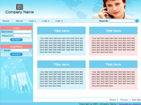 Business Website Template 3