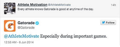 Athlete Gatorade