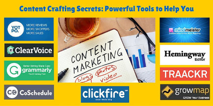 Content Crafting Secrets: Powerful Tools to Help You