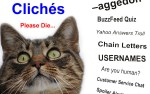 Cat Says Social Media Clichés Must Die
