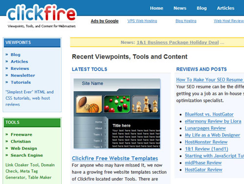 Viewpoints, Tools and Content