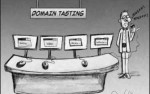 Domain Tasting Cartoon