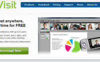 iVisit's sales pitch is very simple: there is no sales pitch!