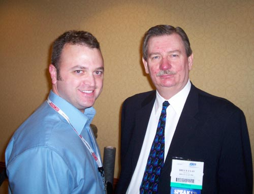 Scott with Bruce Clay at AdTech