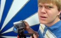 Frustrated Guy with Video Camera