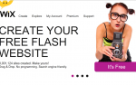 This Wix review is intrigued by the possibilities of free flash.